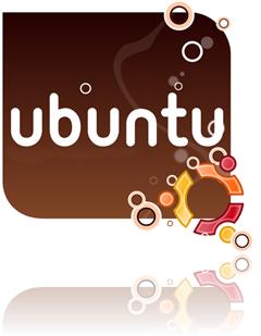 logo linux ubuntu 9.10