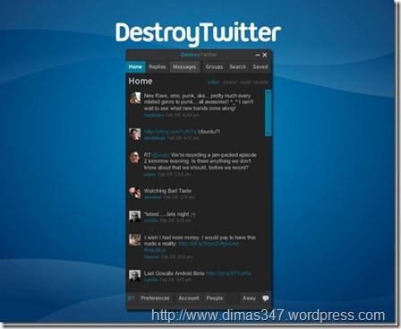 Destroy Twitter