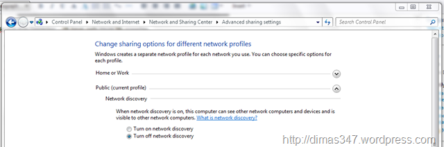 how to turn on the network discovery in windows 10
